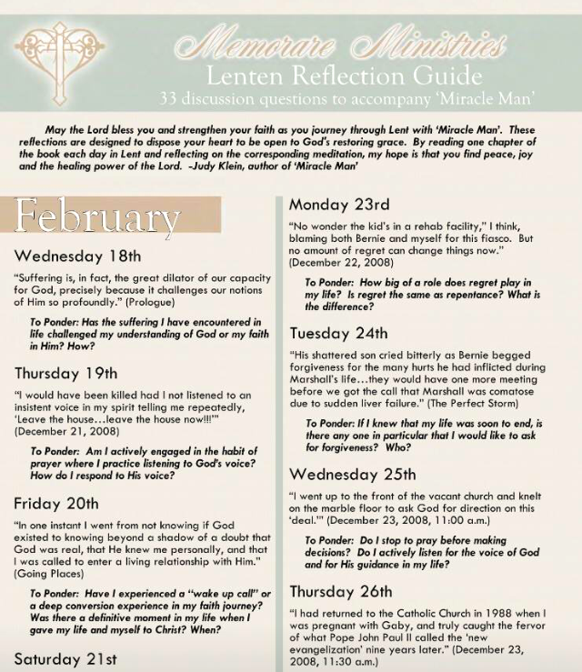 Lenten Reflection Guide