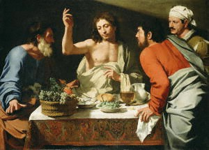 Supper at Emmaus Bartolomeo Cavarozzi (Getty)