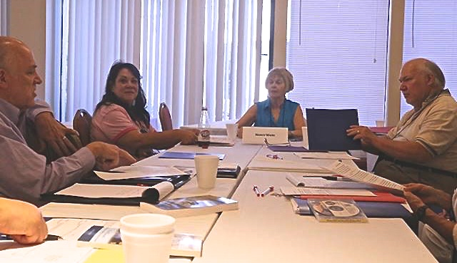 CWCLive Non-Fiction Critique Workshop 7-24-15 (Photo by Deanna Klingel)